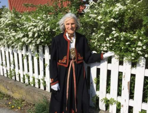 Friederike V. Z. Vevstad (Freddie) ble 100 år den 19 februar 2020.