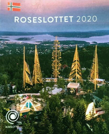 Bilde av Roseslottet med tekst roseslottet 2020