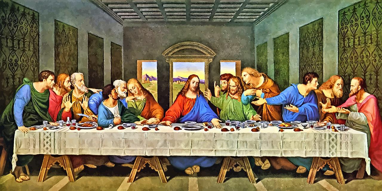 Det siste måltid med disiplene.