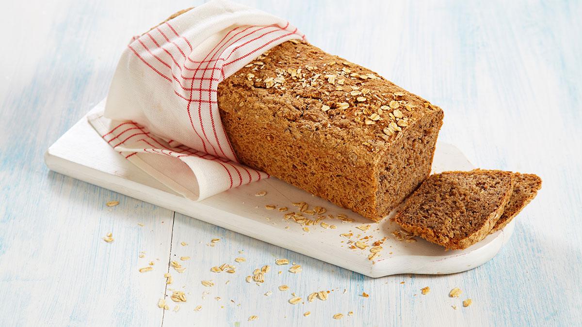 Nybakt brød