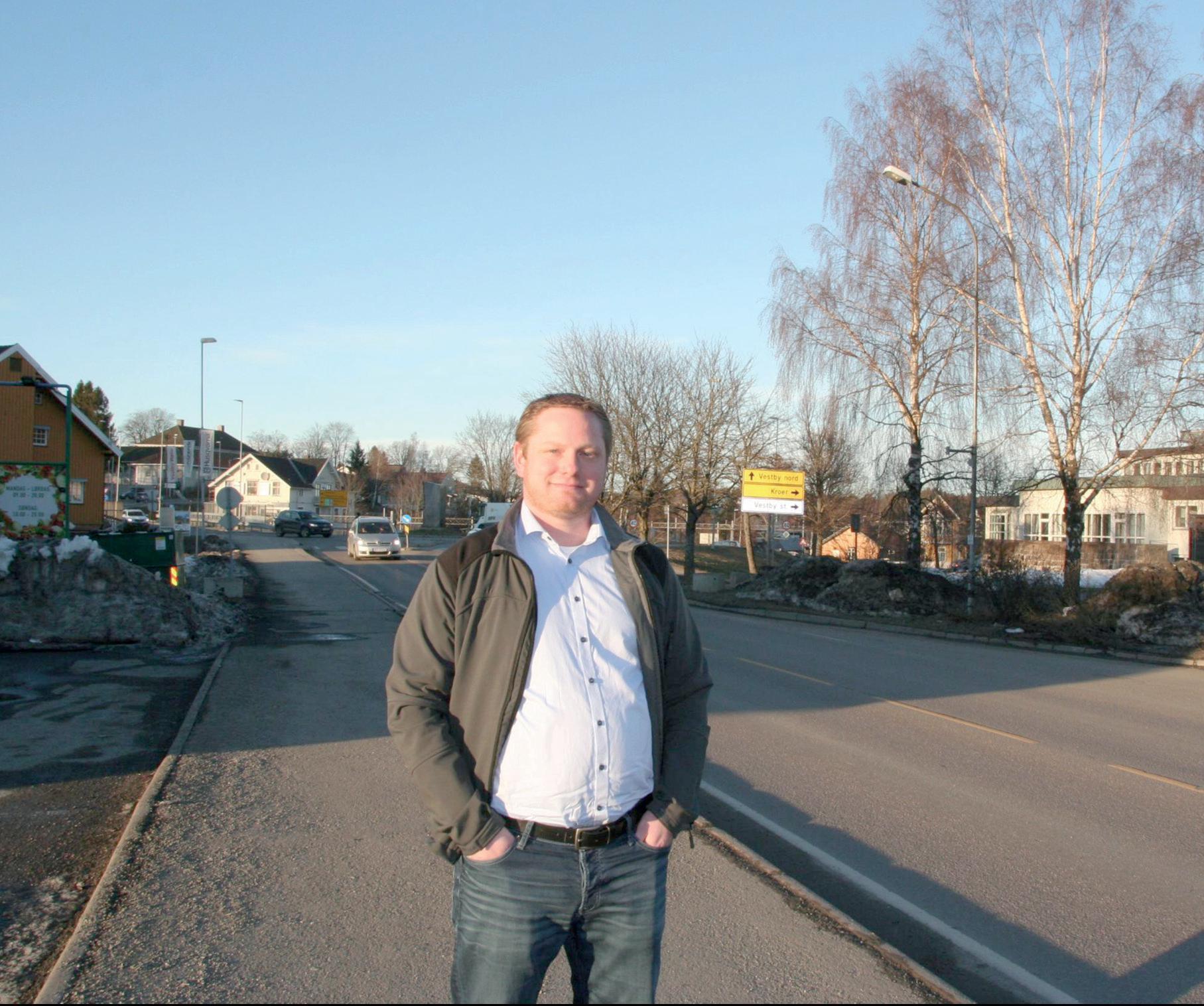 Partileder i FrP Vestby Kenneth Lien Steen