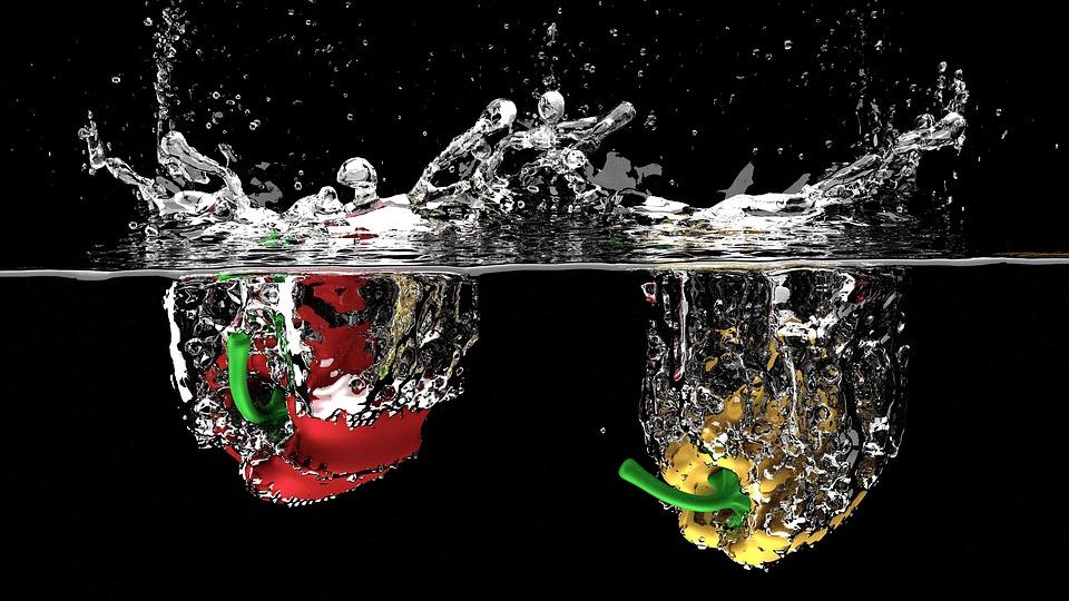 paprika i vann