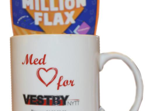 Bli millionær med Vestby Nytt! I alle fall hvis du har Flax