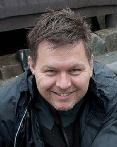 Smilende Trond Larsen