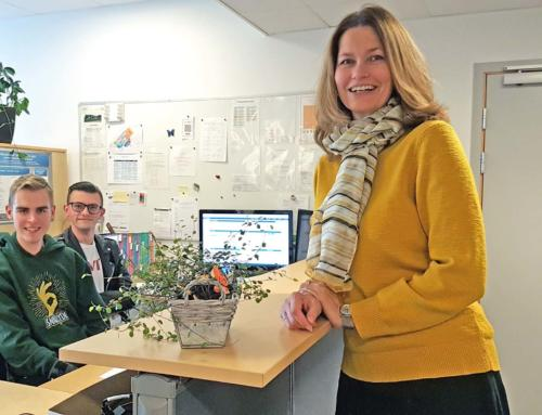 Brit Marie Helle, i rollen som ny rektor – om fagfornyelse, dybdelæring og ny idrettshall