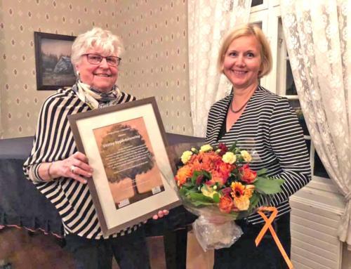 Vestby Bygdekvinnelag fikk Læringsprisen i Akershus Fylke