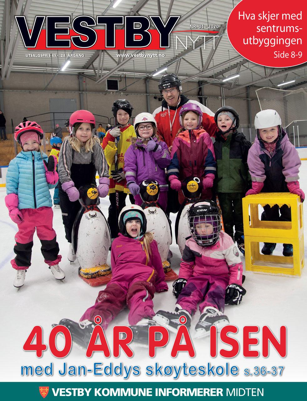 Forside Vestby Nytt nr 1 - 2020