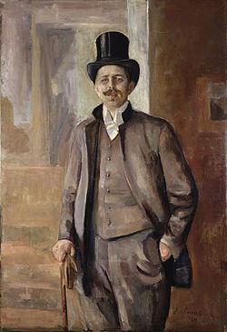 Maleri av Calr Dørnberger