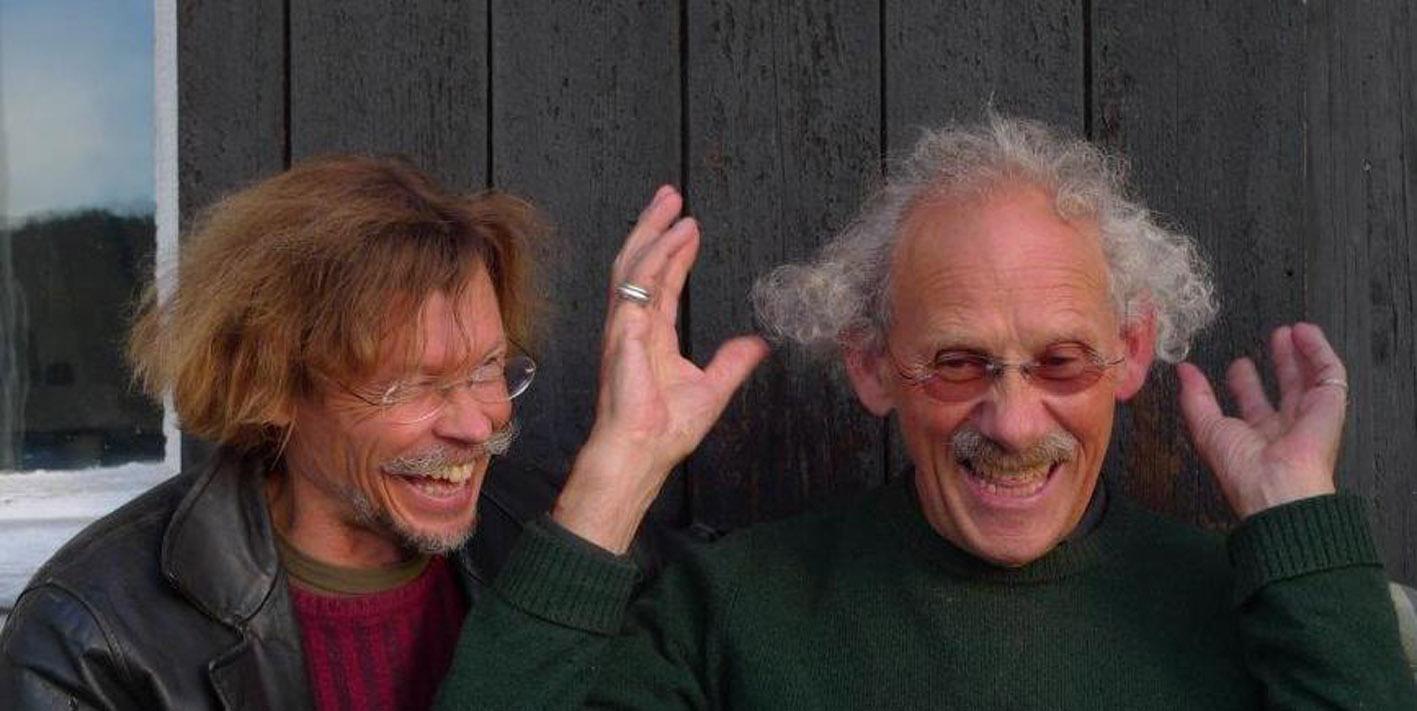 Teppo og Arne ler godt