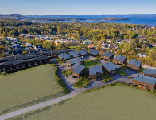 Skoglundkollen – med flott utsikt utover Son