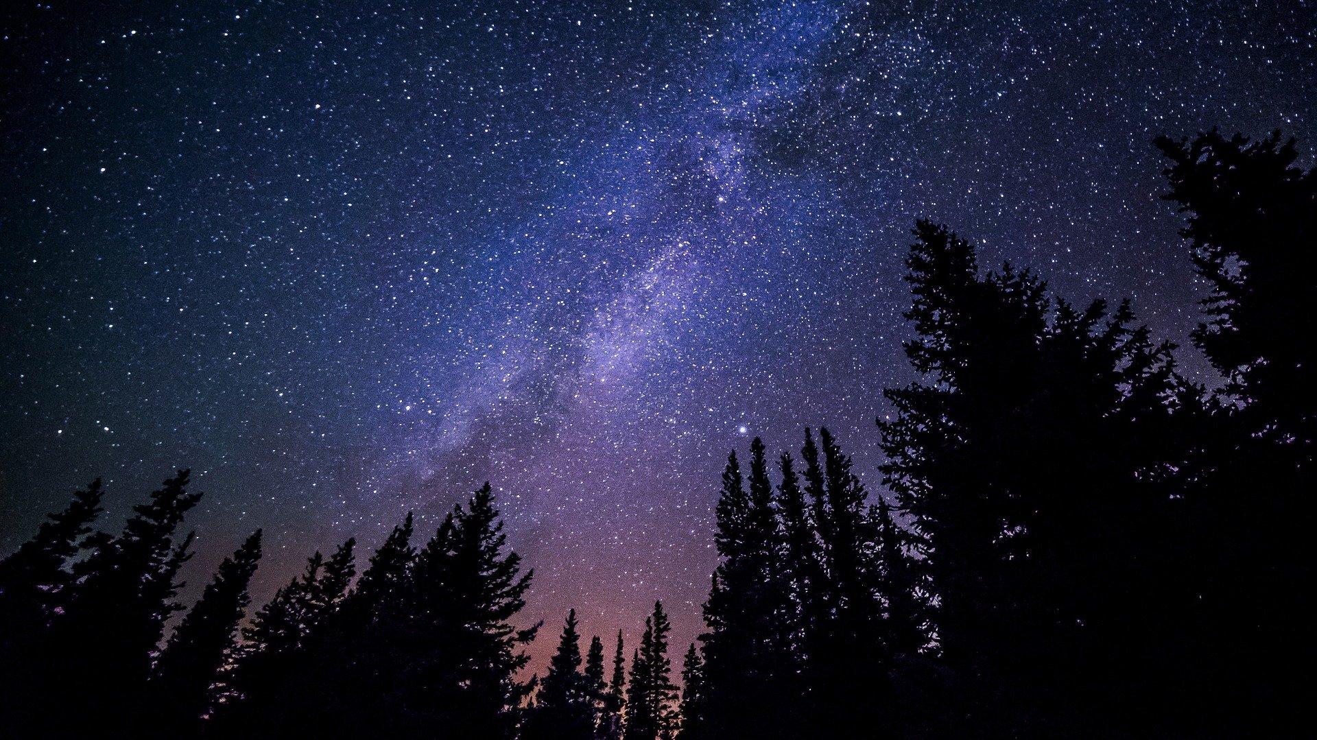 nattehimmel melkeveien