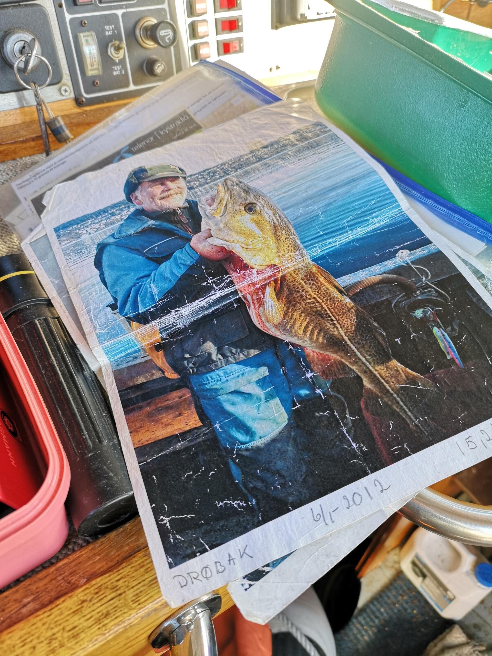 gammelt bilde av fangst (fisk)