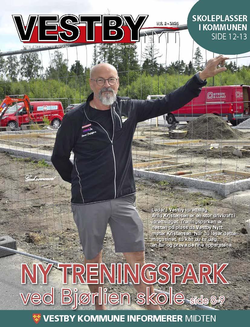 Forside Vestby Nytt nr. 8 2020