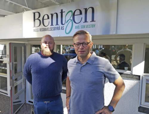 BENTZEN BEGRAVELSESBYRÅ – Åpnet kontor i Son