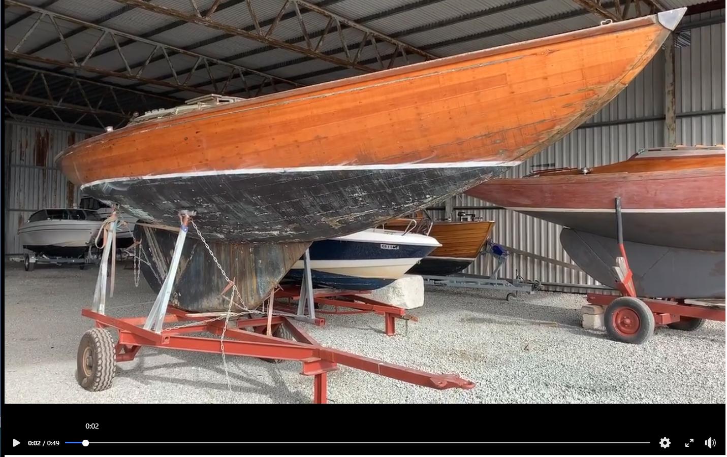 Resataureringsprosjekt Trebåt