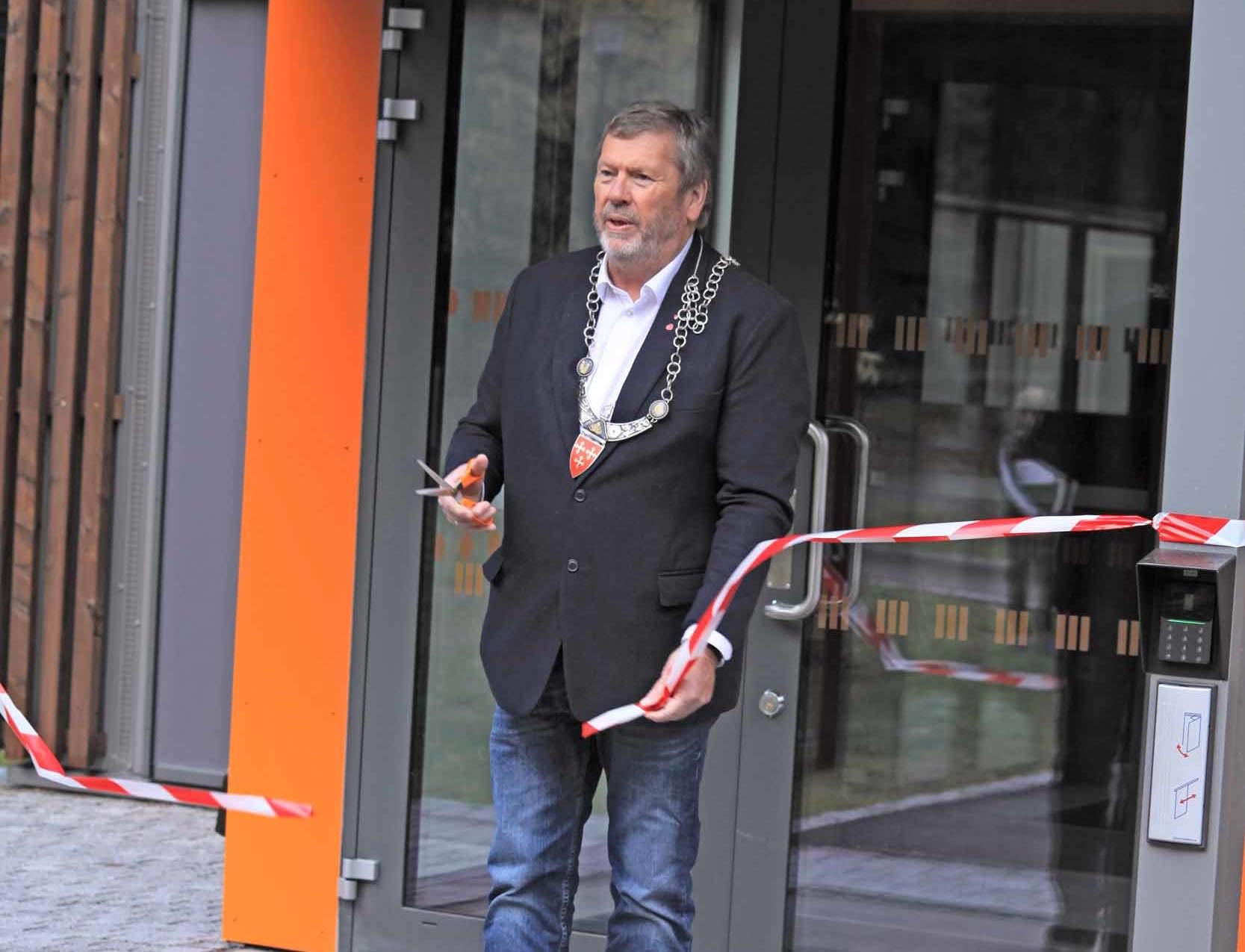 Snorklipping ved ordfører Ludvigsen
