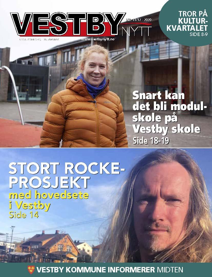 Forside Vestby Nytt nr 8 2020