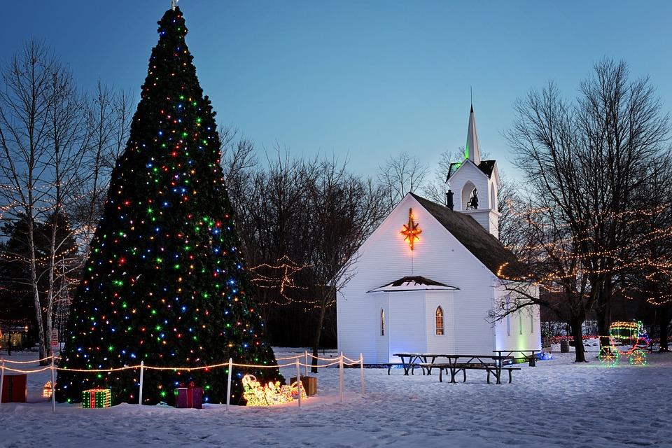 Kirke juletre