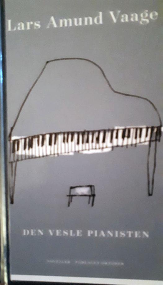 """Omslaget il boka: Den vesle Pianisten""""."""