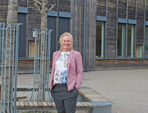PORTRETTETElisabeth Berger, iherdig rektor ved Vestby skole