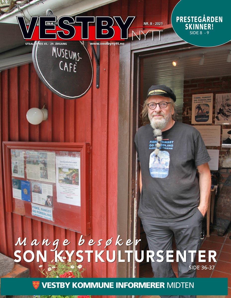Forside Vestby Nytt nr 8 2021
